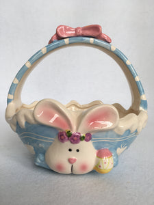 Clearance Bunny Candy Dish With Bow