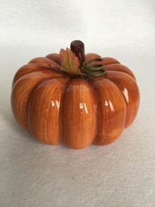 Harvest Medium Ceramic Pumpkin