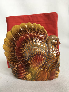 Harvest Turkey Napkin Holder