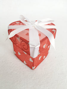 Valentine Heart Shaped Container