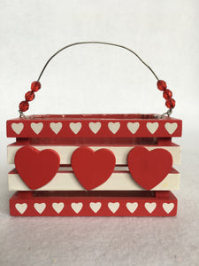 Valentine Small Wooden Box