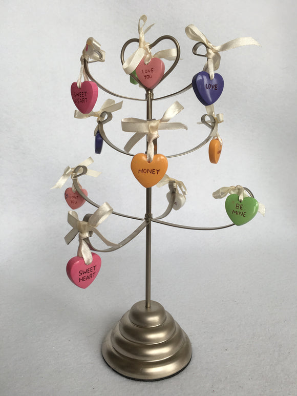 Valentine Candy Heart Tree