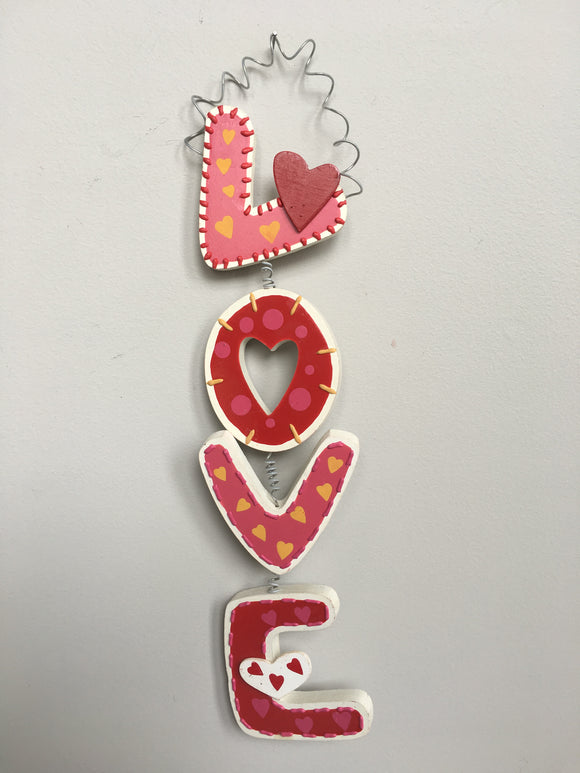 Valentine Vertical Love Sign