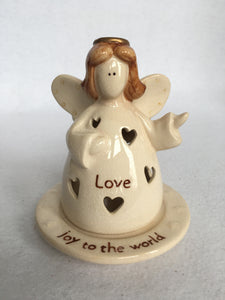 Clearance Russ Berrie and Co. Love Angel Tea Light Holder