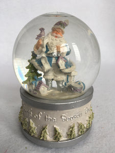 Christmas Musical Santa Snow Globe