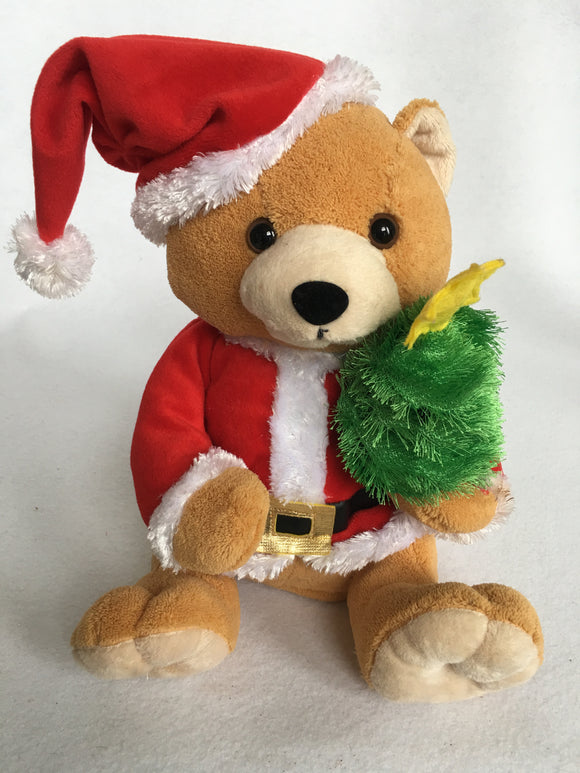 Clearance Musical Bear Holding Tree