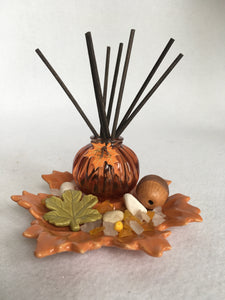 Clearance Harvest Pumpkin and Leaf Dark Reed Diffuser