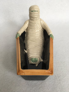 Halloween Mummy in Coffin