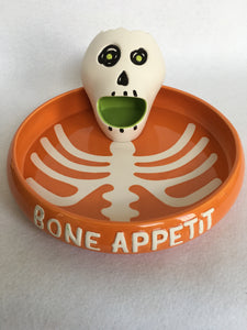 Halloween Hallmark Bon Appetit Chips and Dip Bowl