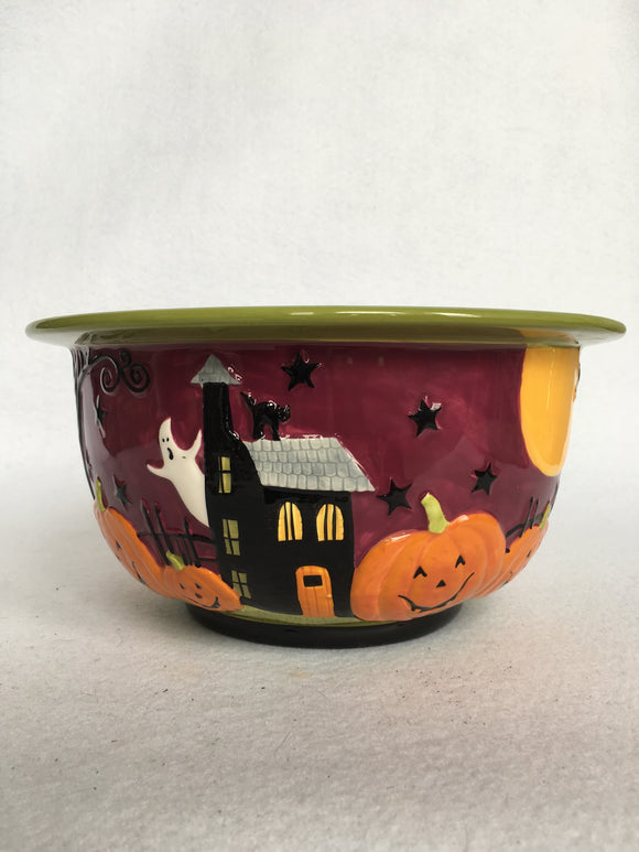 Halloween Scenic View Bowl