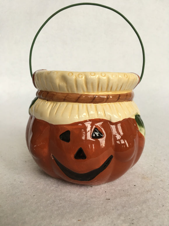 Halloween Small Pumpkin Candy Dish