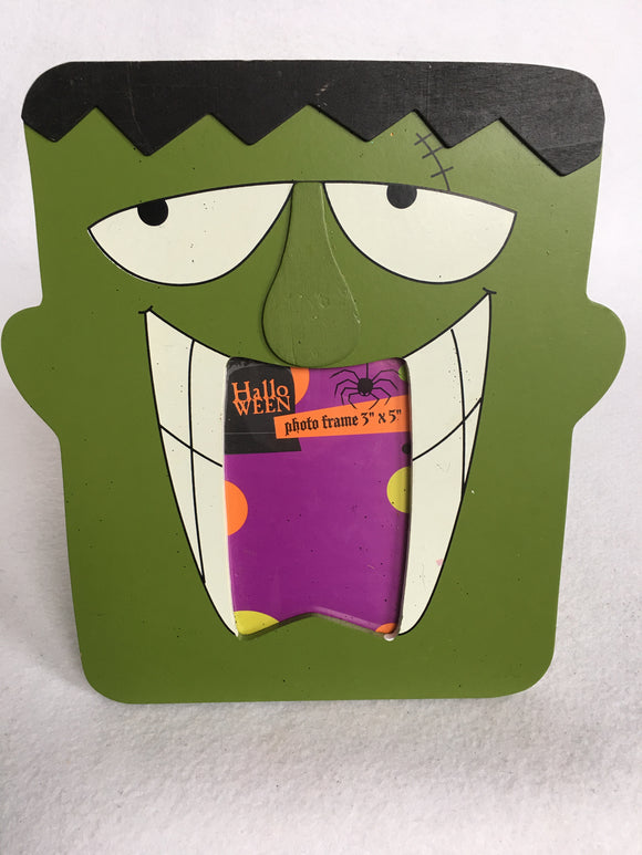 Halloween Frankenstein Photo Frame