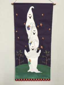 Clearance Light Up Ghost Wall Hanging