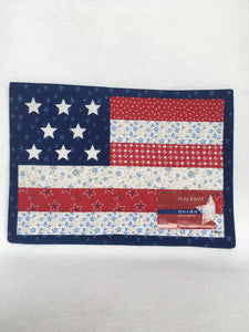 Patriotic Country USA Placemats