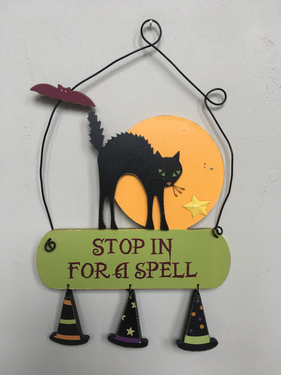 Clearance Stop in for a Spell Sign