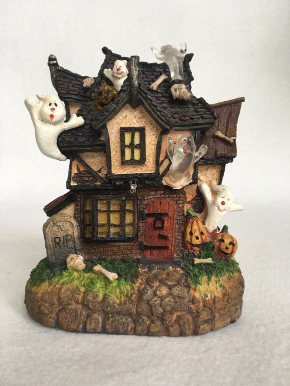 Halloween Light-Up Haunted House