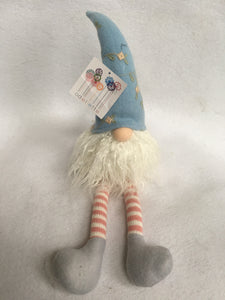 Easter Plush Gnome With Decorated Hat