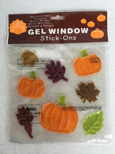Harvest Gel Window Stick-Ons