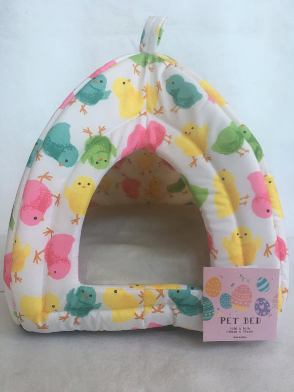 Easter Spring Chicks Small Pet Bed Sack