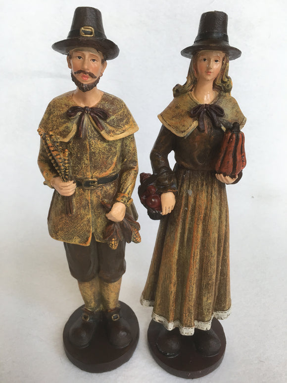 Harvest Thanksgiving Pilgrim Couple