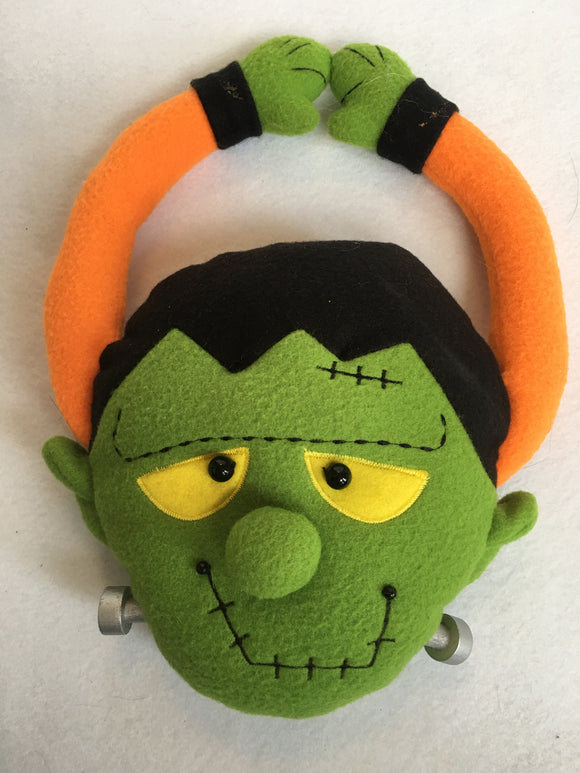 Halloween Frankenstein Felt Door Hanger
