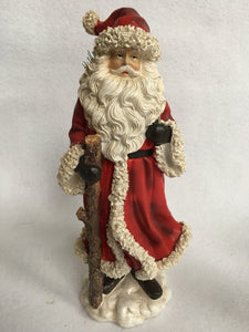 Christmas Old World Santa with Staff or Backpack