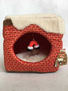 Christmas Chimney 2 in 1 Pet Bed