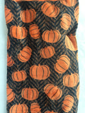 Halloween or Harvest Pumpkins Plush Blanket Throw