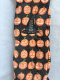 Halloween Pumpkin faces Plush Blanket Throw