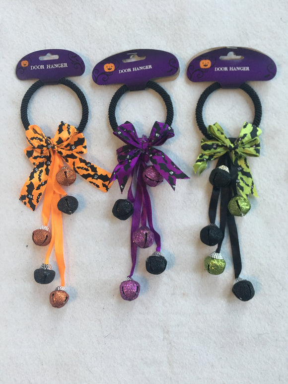 Halloween Door Hanger Bells
