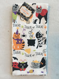 Halloween Cats Dressed Up In Costumes Set of Two Kitchen Towels