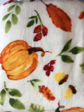 Harvest Gardeners Eden Plush Decorative Throw