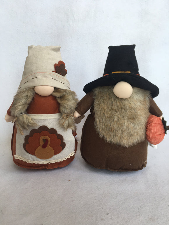 Harvest Thanksgiving Boy or Girl Plush Gnome