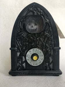 Halloween Sound and Motion Activated Haunted Radio Music Box