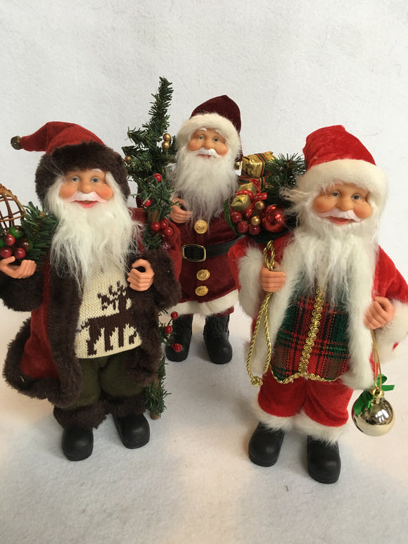 "Christmas 12"" Santa Displays"