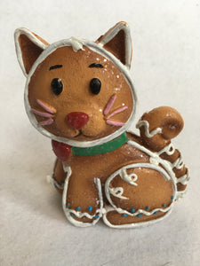 Christmas Gingerbread Dog or Cat