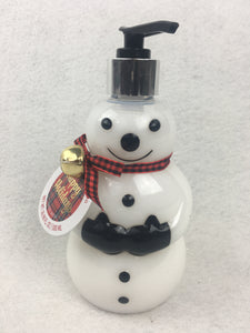 Christmas Pennington of London Snowman Hand Soap Dispenser
