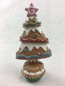 Christmas Gingerbread Decorated Tree