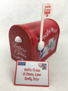 Christmas Magical Mailbox For North Pole Mail Deliveries