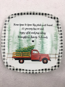 Christmas Ceramic Sharing Plate