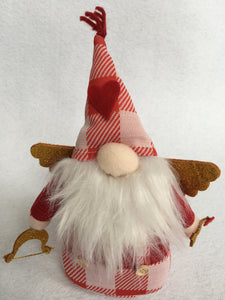 Valentine Cupid Plush Gnome