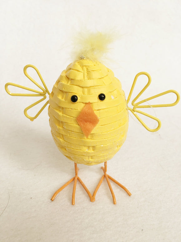 Easter Chick with Fuzzy Head
