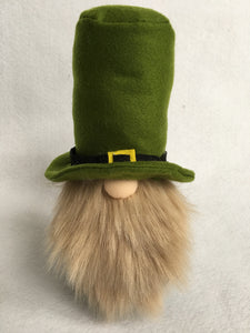 Saint Patrick's Day Large Gnome with Tall Hat