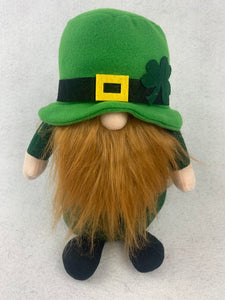 Saint Patrick's Day Large Munchkin Boy or Girl Gnome Wearing Hat
