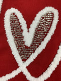 Valentine Love in Script Cotton Table Runner