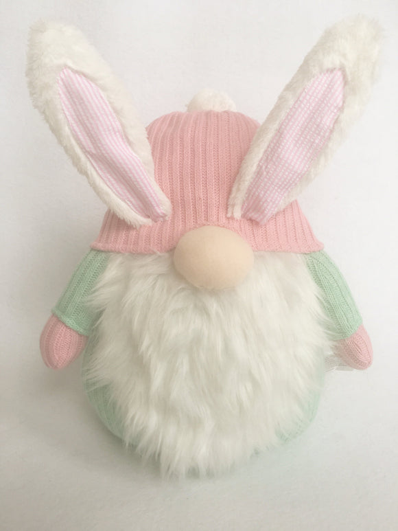 Easter Plush Gnome Wearing Bunny Ears
