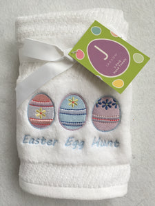 Easter Egg Hunt With Three Eggs 100% Cotton Hand Towels