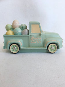 Easter Large Truck Carrying Eggs Display
