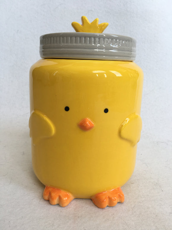 Easter Peep Peep Chick Medium or Large Ceramic Cookie Jar