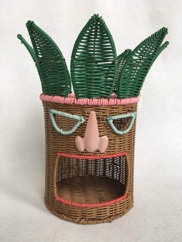 Beach Tiki Man Head Centerpiece